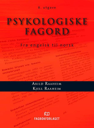 Psykologiske fagord