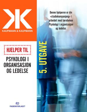 Hjelper til Psykologi i organisasjon og ledelse