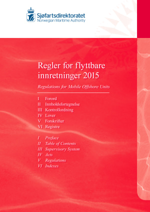 Regler for flyttbare innretningar 2016 = Regulations for mobile offshore units 2016