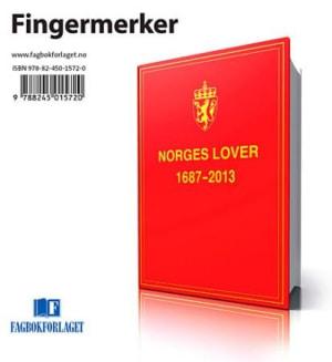 Norges lover 2015. Fingermerker