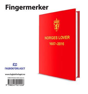Norges lover 2016. Fingermerker