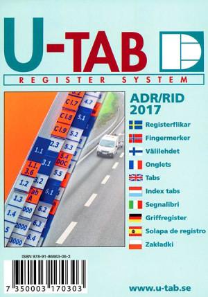 Fingermerker til ADR/RID Forskrift om landtransport av farlig gods 2017
