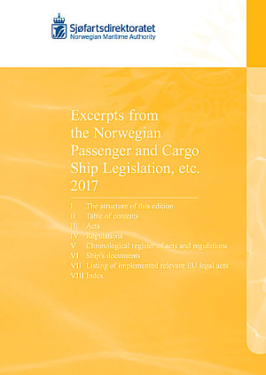 Excerpts from the Norwegian Passenger and Cargo Ship Legislation etc. 2017