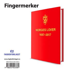 Norges Lover 2017 fingermerker