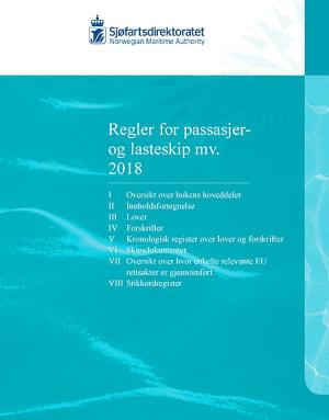 Regler for passasjer og lasteskip mv. 2018, bok