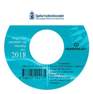 Regler for passasjer og lasteskip mv. 2018, cd