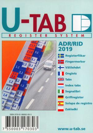 Fingermerker til ADR/RID landtransport av farlig gods 2019