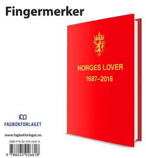 Norges Lover 2018 fingermerker