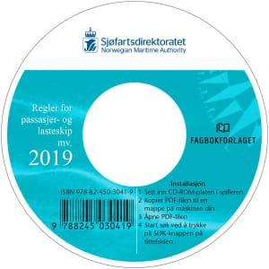 Regler for passasjer og lasteskip mv. 2019, kun cd