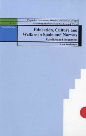 Education, culture and welfare in Spain and Norway