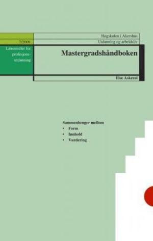 Mastergradshåndboken