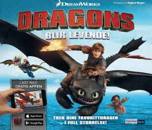 Dragons blir levende!