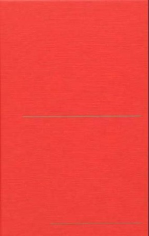 Finbok rød. Lite format. Linjeavstand: 9 mm