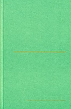 Finbok grønn. Lite format. Linjeavstand: 9 mm