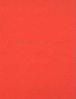 Finbok rød. Stort format. Linjeavstand: 17 mm