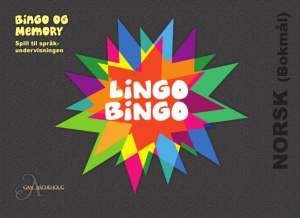 LingoBingo. Norsk (bokmål). Bingo og memory. Spill til språkundervisningen