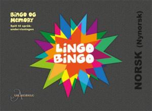 LingoBingo. Norsk (nynorsk). Bingo og memory. Spill til språkundervisningen