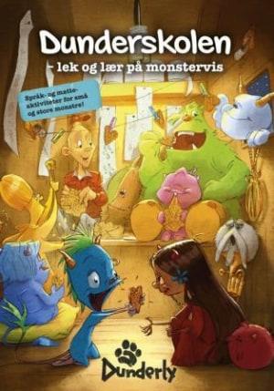 Dunderskolen. Lek og lær på monstervis. Språk- og matteaktiviteter for små og store monstre