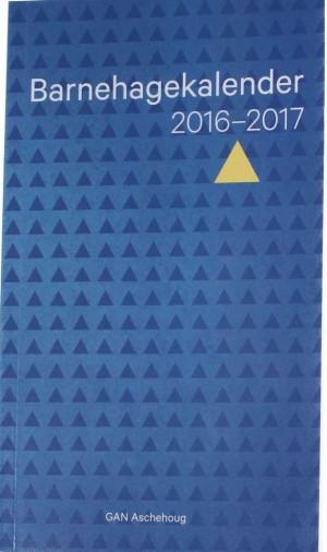 Barnehagekalender 2016-2017