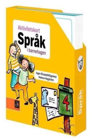 Aktivitetskort. Språk i barnehagen. 50 aktivitetskort i kassett
