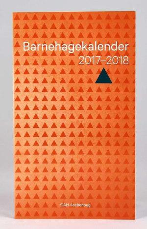 Barnehagekalender 2017-2018