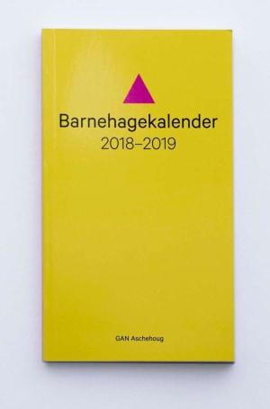 Barnehagekalender 2018-2019
