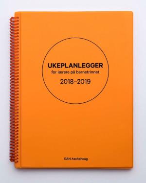 Ukeplanlegger for lærere på barnetrinnet 2018-2019
