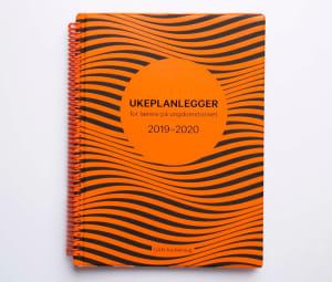 Ukeplanlegger for lærere på ungdomstrinnet 2019-2020. Limited