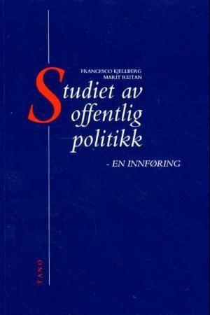 Studiet av offentlig politikk