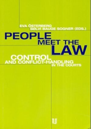People meet the law