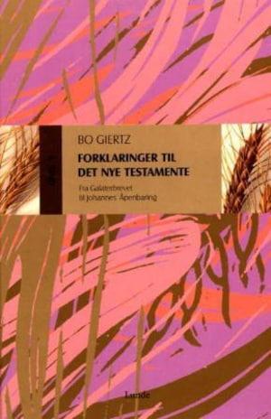 Forklaringer til Det nye testamente