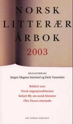 Norsk litterær årbok 2003