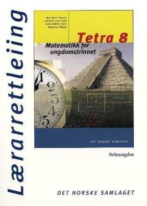 Tetra 8 Lærerveiledning