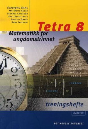 Tetra 8 Treningshefte