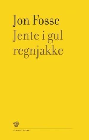 Jente i gul regnjakke