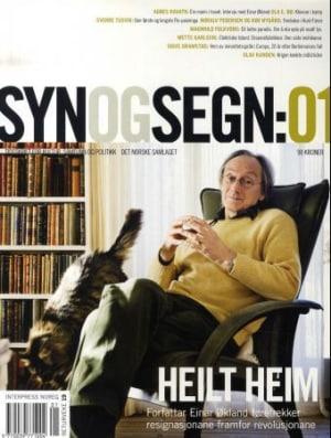 Syn og segn. Hefte 1-2010