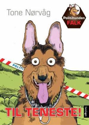 Politihunden Falk til teneste!