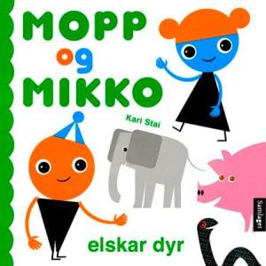Mopp og Mikko elskar dyr