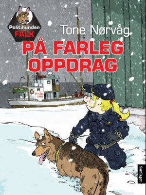 Politihunden Falk på farleg oppdrag