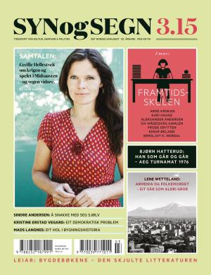 Syn og segn. Hefte 3-2015