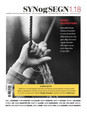 Syn og segn. Hefte 1-2018