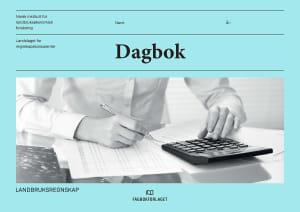 Dagbok. Landbruksregnskap. NILF og NLR. Bokmål