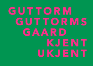 Guttorm Guttormsgaard: kjent ukjent