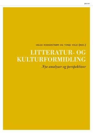 Litteratur- og kulturformidling