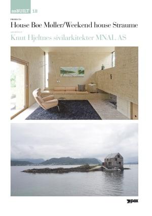 Project: House Bøe Møller/Weekend house Straume, architect: Knut Hjeltnes sivilarkitekter MNAL AS