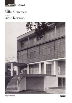 Project: Villa Stenersen, architect: Arne Korsmo