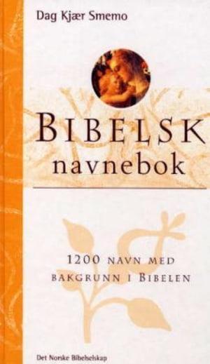 Bibelsk navnebok