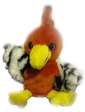 Harry Hærfugl - hånddukke