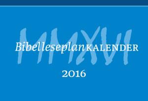 Bibelleseplankalender 2016