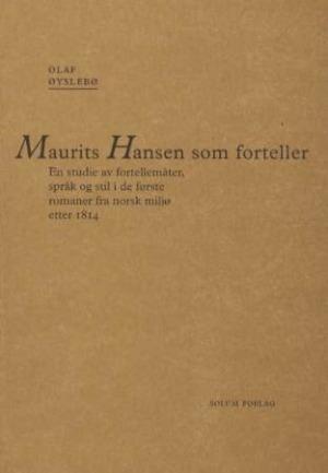 Maurits Hansen som forteller